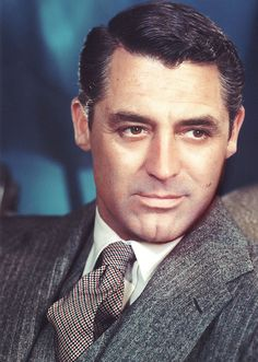 Cary Grant.  Theoretically my husband's (or really ex-husband's) grandma's second cousin.  So handsome.