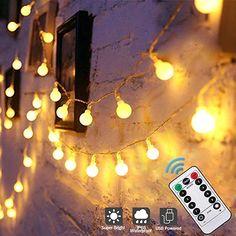 Kleiner als erwartet  Beleuchtung, Lichterketten, Außen & Innen Outdoor Fairy Lights, String Lights Outdoor, Christmas Garden, Christmas Holidays, Garden Bedroom, Globe String Lights, Holiday Lights, You Are Awesome, Kugel