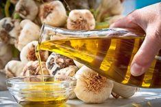 Mascarilla de ajo y aceite de oliva