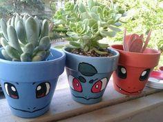 Pokemon Flower Pot