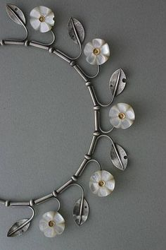 Lisa West - sterling silver, mother of pearl