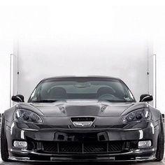 Now that's one hot Chevrolet Corvette!