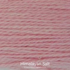A ColourSpun Pure Cotton colour swatch, this colour is called Himalayan Salt #himalayansalt #cotton #colourinspiration Yarn Colors, Colours, Colour Swatches, Super Chunky Yarn, Fabric Yarn, Embroidery Thread, Color Inspiration, Fabric Design, Create Your Own