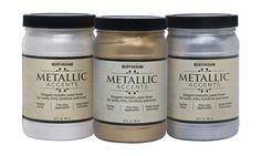 Краска с эффектом яркого металлика