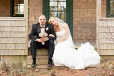 Wedding. Rustic. Bride and groom. Photography. Bouquet. Vintage. Lace. Camo