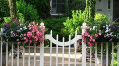 Flowerbox Gate ~ best of all worlds!