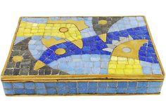 Salvador Teran Glass Mosaic Box
