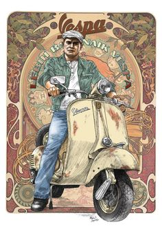 Vespa Art VL1 series