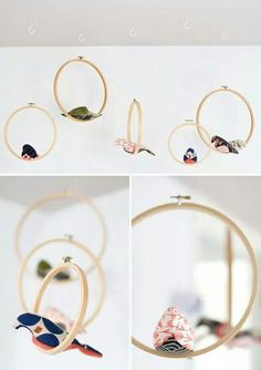 how about cardboard hoops?