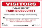 #goatvet says every goat property should have one of these BIOSECURITY SIGNS