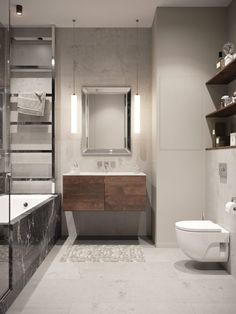 64m2-es lakás természetes és semleges színekkel, besétálós gardróbbal, biokandallóval és projektorral Bathroom Design Small, Bathroom Interior Design, Home Interior, Interior And Exterior, Bathroom Ideas, Exterior Design, Decoration, Cool Designs, Bathtub