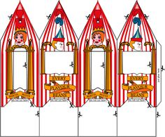 Bertie Bott's Every Flavour Bean Box Template (and famous witches and wizards card blanks, and more!)