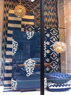 I love ny (and nate too) carpet stores, shop facade, fabric display Visual Display, Display Design, Store Design, Display Ideas, Carpet Shops, Fabric Display, Store Displays, Window Displays, Wale