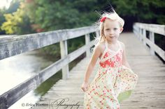 Girl's Classic Sundress kid's clothing by TenderfeetStitches, $6.90