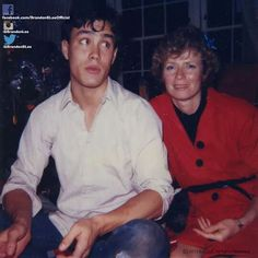 Brandon Lee and mom Linda Lee - Martial Arts Legend Bruce Lee's son & wife