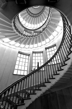 Heal & Son, London Cecil Brewer Staircase at Heal's Tottenham Court Road