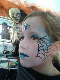 maquillage enfant strasbourg maquilleuse face painting atelier maquillage alsace… make-up child strasbourg make-up artist face painting make-up workshop alsace colmar brumath haguenau mulhouse selestat schiltigheim emilie grauffel Kids Witch Makeup, Halloween Makeup For Kids, Kids Makeup, Halloween 2018, Fall Halloween, Halloween Crafts, Halloween Party, Halloween Face, Sfx Makeup