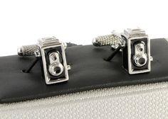 Rolliflex Camera Cufflinks