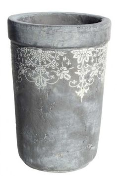 Lace pot tall