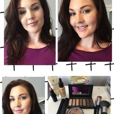 Glorious Face/Eye Primer Mineral Touch Concealer  Mineral Touch Liquid Foundation Liquid Foundation Brush Moodstruck Palette 1 (eyes) 3D Mascara Beachfront Bronzer Powder Puff Brush Ritzy Lipstick Super quick, no need to be a pro! Voila ladies!! www.youniqueproducts.com/SarahSwanson