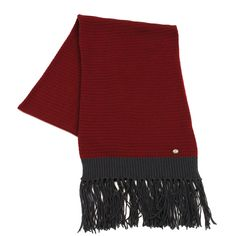 Cashmere Scarf, New Product, Burgundy, Campaign, Chanel, Gray, Medium, Link, Sweaters
