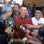 Walikota Bandung dan Gubernur Jawa Tengah Sambangi Kantor Ahok