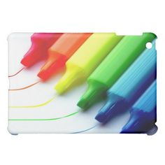 Colorful Highlighters  iPad Mini Cases