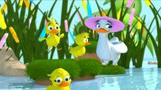 Little Duck, Treehouse, Confirmation, Ducks, Dinosaur Stuffed Animal, Channel, Animation, Concept, Artwork