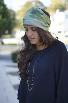 Reflections Skinny Infinity Scarf - also works as a headband