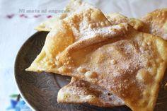 OrejasCarnaval Tiramisu, Sweets, Ethnic Recipes, Pasta Filo, Food, Salmon Cakes, Cheese Bread, Cooking Recipes, Easy Desserts