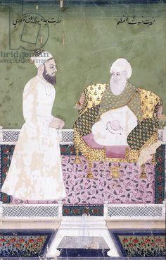 size: Giclee Print: Ghaus Al-'Azam, Abdul Qadir Ghilani of Baghdad, C. 1800 (Gouache with Gold Paint on Paper) : Artists Sufi Saints, Mughal Paintings, Baghdad, Islamic Pictures, Gold Paint, Botanical Art, Portrait Art, Gouache, A4 Poster