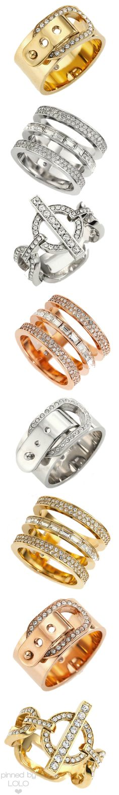 Michael Kors Assorted Rings | LOLO❤
