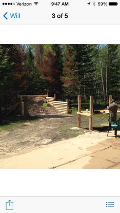 Finish project!  Our new gun range.