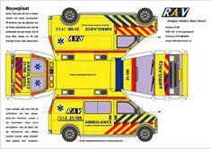 bouwplaat ambulance chevrolet