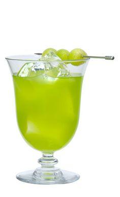 Melon Ball: 1 oz vodka, 1 oz melon liqueur, 4 oz orange juice, honeydew melon balls
