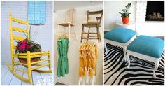 16 DIY's That Bring New Life To Old Chairs ~ Idees And Solutions