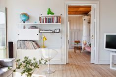 my scandinavian home: Old meets new in a Malmö home