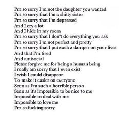 Exactly how I am feeling about myself