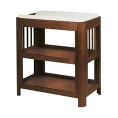giggle Better Basics Harper Changing Table (Walnut) by Troll Nursery. $350.00