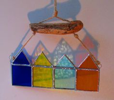 Stained Glass Beach Huts | wowthankyou.co.uk