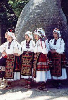 Traditional Bulgarian Costumes Pleven Region