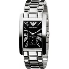 e767d9b2d04 Emporio Armani Men s Rectangle Bracelet Watch