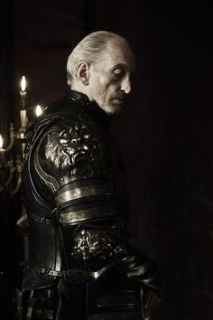Tywin Lannister portrayed by the incredible Charles Dance.