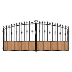 The short Jones metal framed timber gate brings the best in security and privacy to your home. Timber Gates, Wooden Gates, Garden Gates And Fencing, Custom Gates, Driveway Gate, Outdoor Structures, Luxury, Metal, Places