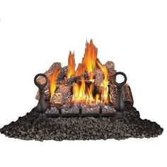 Napoleon Products 20.375-In 55,000-Btu Single-Burner Vented Gas Firepl