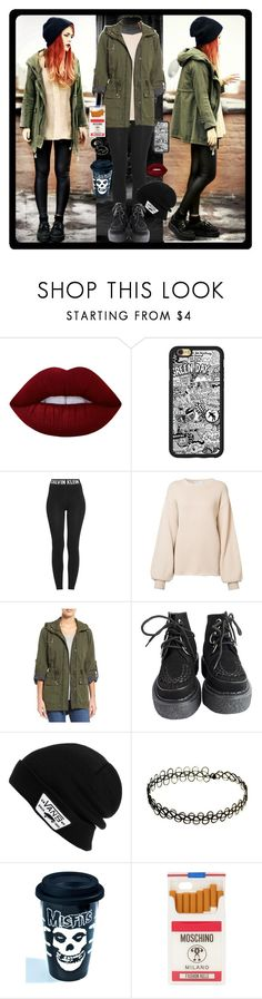 """""""Love this <3"""" by chemicalfallout249 ❤ liked on Polyvore featuring Calvin Klein, Ryan Roche, Levi's, Vans, Sourpuss, Moschino, grunge and alternative"""