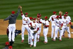 Game 4 of the NLCS- That's a winner 10-18-12
