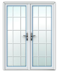 Georgian French Doors can add some elegance to your garden room. Ideal to replace old sliding #doors that have become outdated.