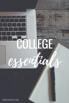 These back to school essentials are perfect for high school or college classes! Make sure you have all the back to school essentials you need for success! College Life Hacks, College Success, College Classes, College Years, Education College, College Tips, College Must Haves, College Survival Guide, School Checklist