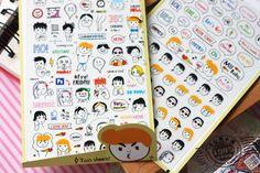 DIY Notebook today boy girl Funny Photo Album Envelope Seal Scrapbook Paper PVC Sticker Phone Decoration Stamp Diary Deco Set  //Price: $US $3.89 & FREE Shipping //     #crafting #scrapbooking #decor #decoration #diy #idea #inspiration